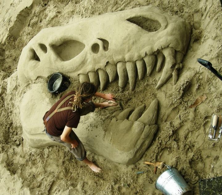 Artista di... spiaggia di arual81