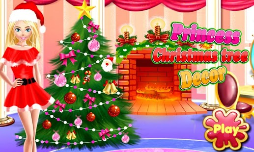 Princess Christmas Tree Decor- screenshot thumbnail