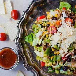 Taco Salad with Smoky Catalina Dressing.