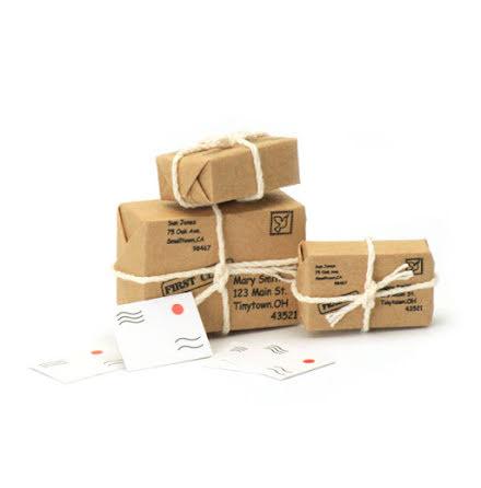 Post i miniatyr