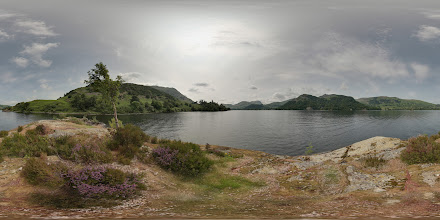 Photo: Lingy Holm, a small island on Ullswater in the English Lake District.