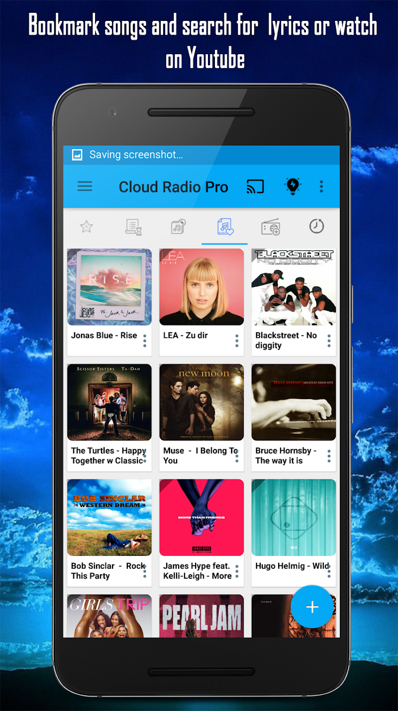 Cloud Radio Pro - Record , Lyrics & Music Screenshot 4
