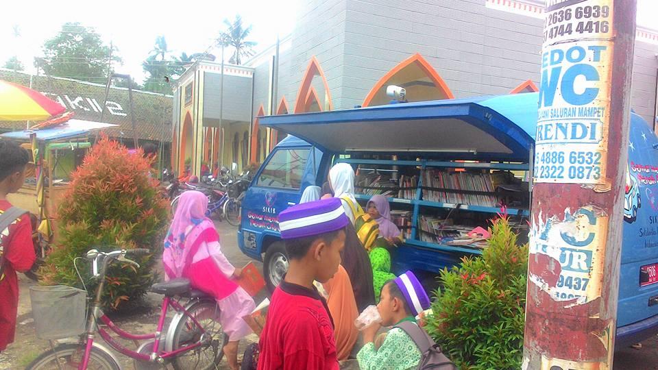 Minat masyarakat terhadap perpustakaan desa kuripan kidul