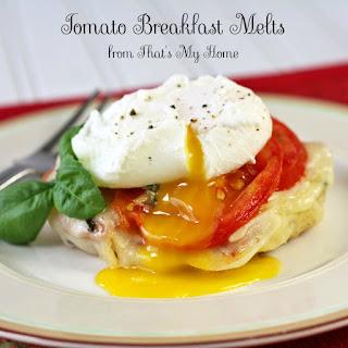 Tomato Breakfast Melts