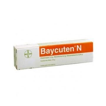 Clotrimazol + Neomicina + Dexametasona Baycuten N Crema Tubo X35G. Bayer