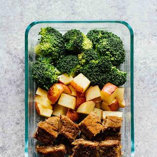Steak & Potatoes Meal Prep Bowls.