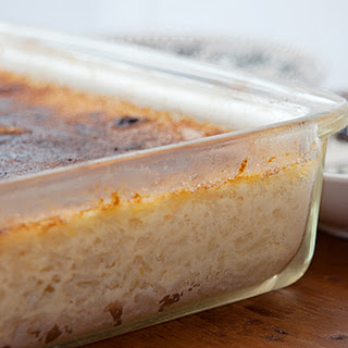 Baked Rice Pudding.