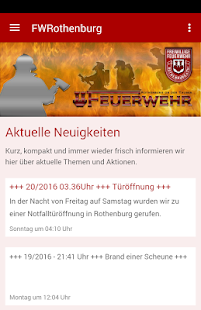 Feuerwehr Rothenburg od.Tauber- screenshot thumbnail