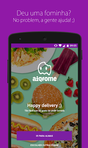 aiqfome - Delivery de Comida for PC