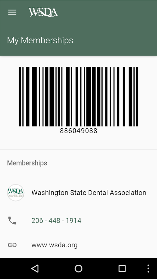 ADA Mobile Member- screenshot