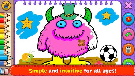 Fantasy - Coloring Book & Games for Kids apktreat screenshots 2