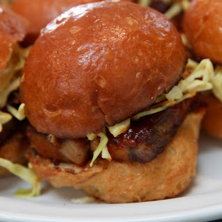 These Pork Belly Sliders Are A Meat Lover's Dream