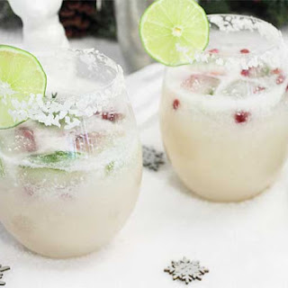 White Christmas Margarita.