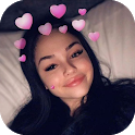 Heart Crown Face Camera icon