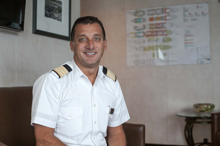 Stephane Coutouly, the food and beverages director on Celebrity Infinity.