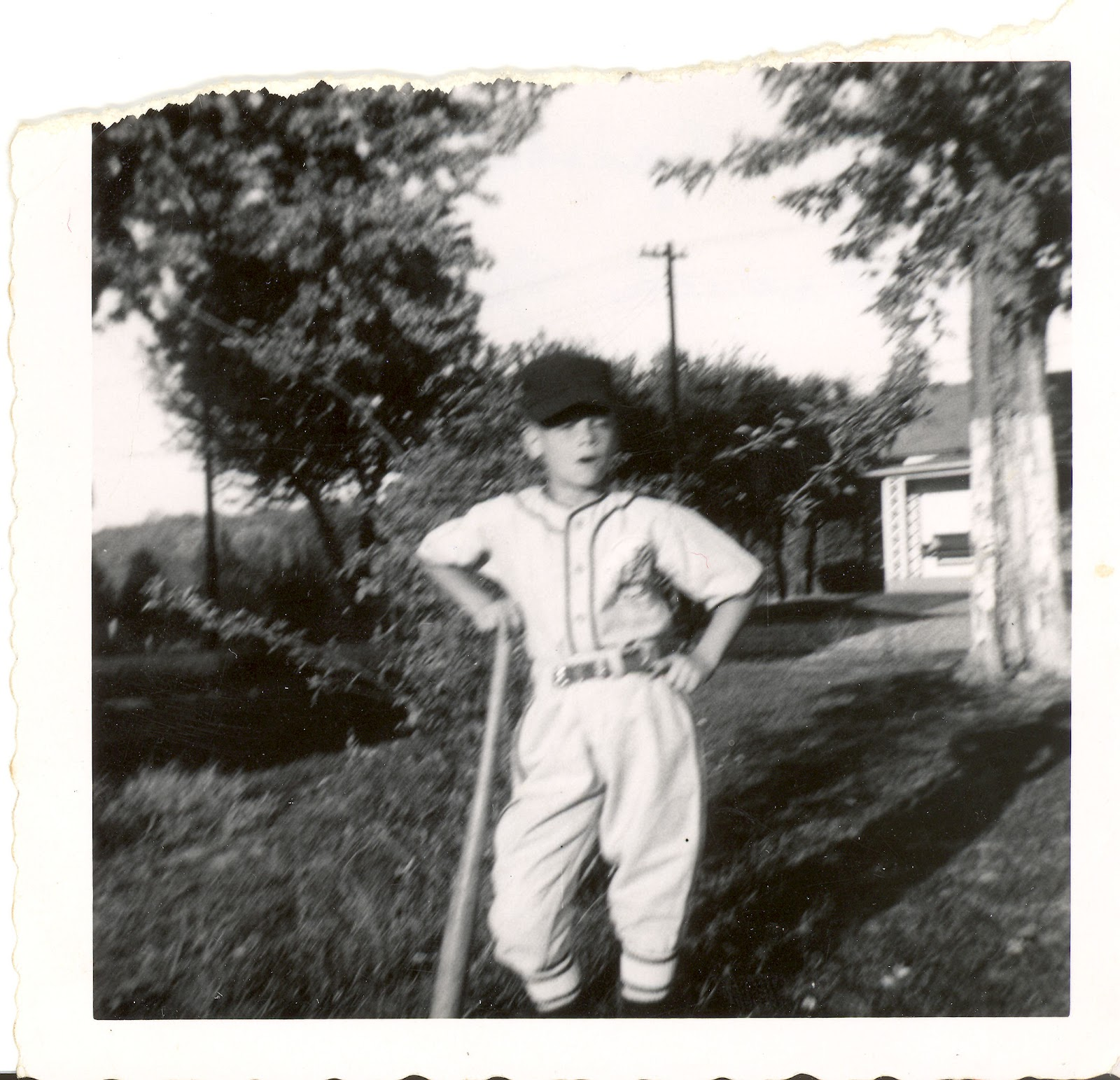 Hannibal Yankees pitcher, age 9, Sep 1953.jpg