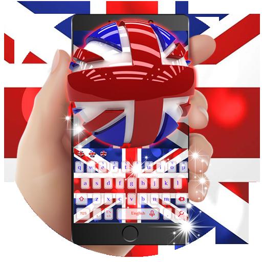 UK Flag Keyboard