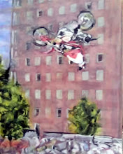 Photo: Doing the Once Impossible 2005 24 x 30 in oil on canvas