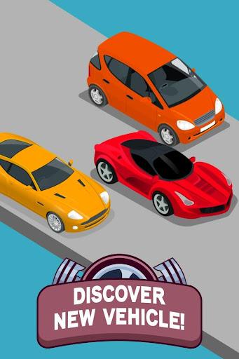 Merge Cars Vehicles - Idle & Clicker Tycoon 1.1 screenshots 2
