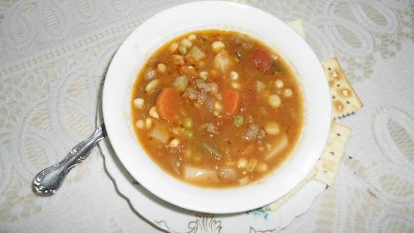 Fresh From The Garden Homemade Soup Recipe