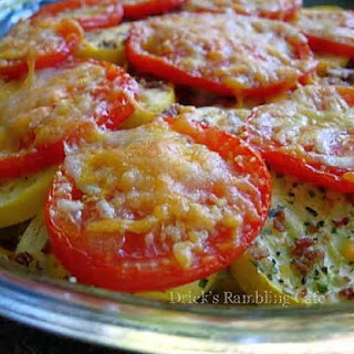 Healthy Squash and Tomato Tian