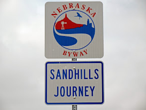 Photo: .... welcher gleichzeitig ein Scenic Byway ist: Sandhills Journey