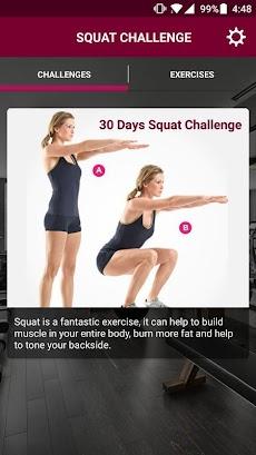 30 Days Squat Challengeのおすすめ画像1