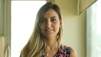 Patricia Gómez, en su trabajo