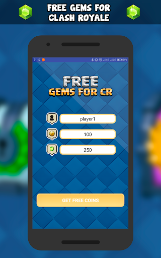 Free gems for CR 2018 - Prank for PC