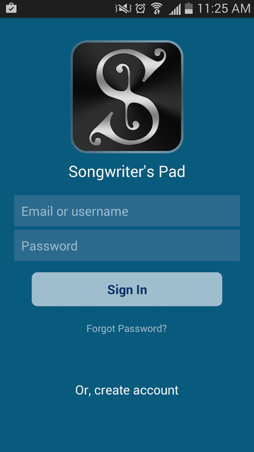 Songwriter's Pad™- Songwriting- screenshot