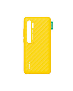 Backcase Xiaomi original  Mi Note 10 Hard Case Yellow