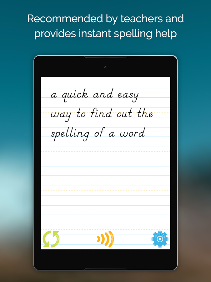 Easy Spelling Aid + Translator & Dyslexia Support- screenshot