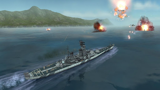 WARSHIP BATTLE:3D World War II apktreat screenshots 2