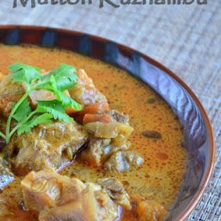 Mutton Kuzhambu - South Indian style Mutton gravy