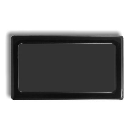 DEMCiflex magnetisk filter 2x60 mm, rektangulær, sort