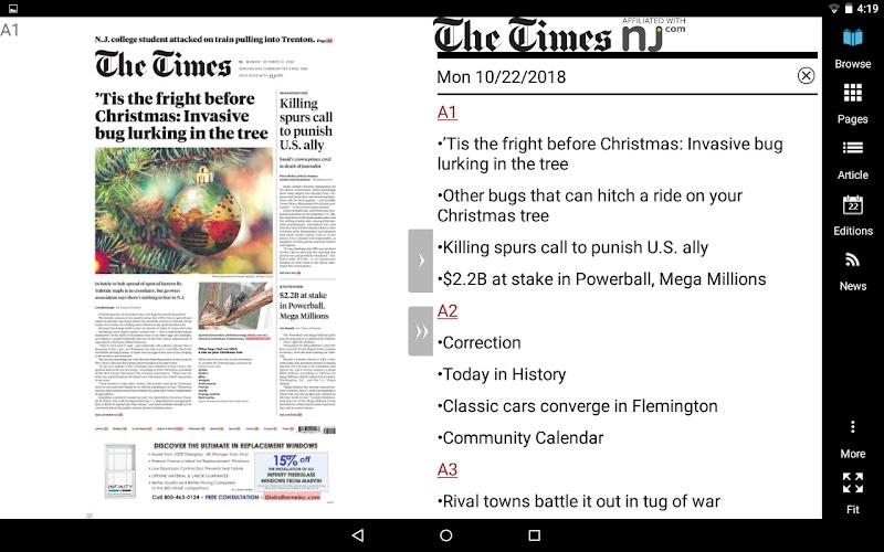 Скриншот The Times of Trenton