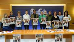 Presentación de la VI semana de las personas con discapacidad en el Ayuntamiento.