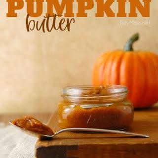 Pumpkin Butter.