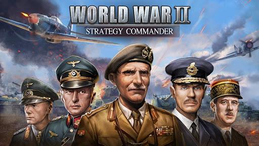 WW2: Strategy Commander Conquer Frontline apklade screenshots 1