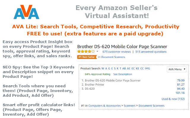 AVA (Every Amazon Seller's Virtual Assistant)