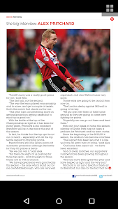Brentford FC programmes screenshot 4