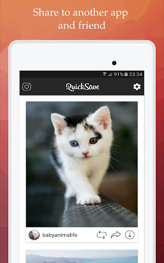 QuickSave for Instagram 2.2.7 screenshots 11