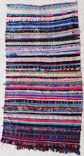 Photo: 250x132 cm REF T67 Beni Mellal short pile kilim RESERVE