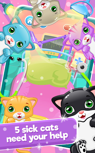 Little Cat Doctor:Pet Vet Game  screenshots 3