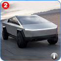 Cybertruck: Extreme Offroad Hilly Roads Drive icon