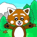 Pukkins Camping - Roligt lärande spel för barn icon