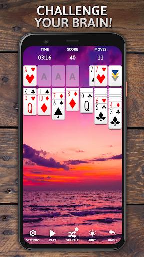 Solitaire Classic Era - Classic Klondike Card Game screenshots 5