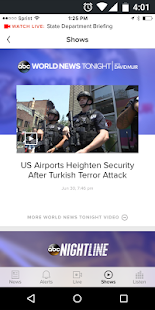 ABC News - US & World News- screenshot thumbnail