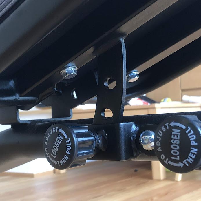 リーディングエッジ インクラインベンチ座面調整4