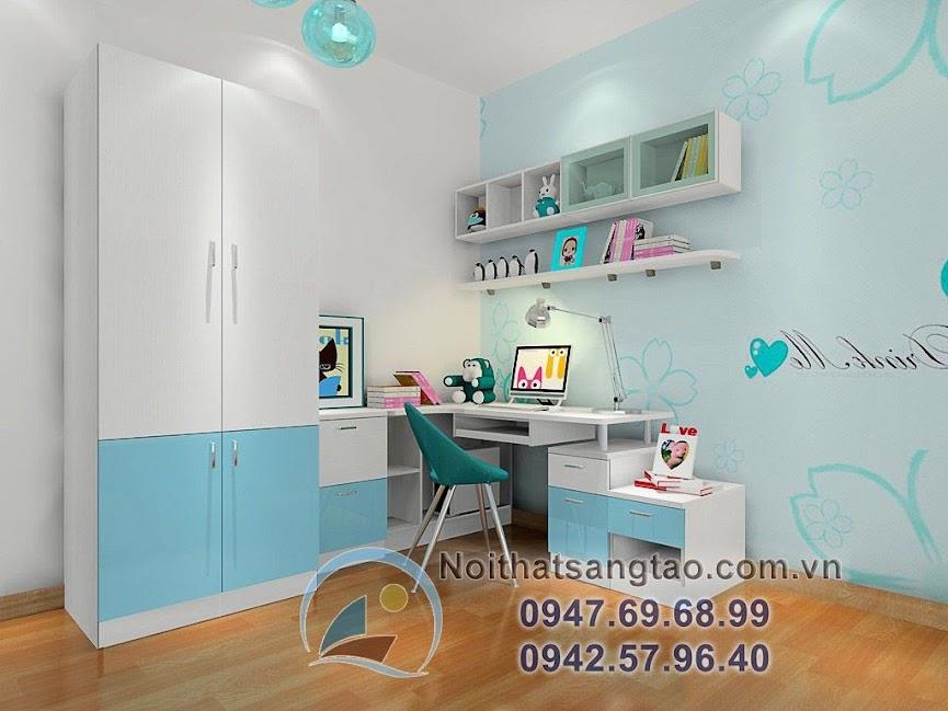thiết kế phòng ngủ bé gái 5
